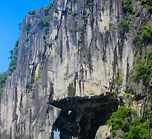 The Stone Arch - Ha Long Bay, Vietnam. by Tiffany Lenoir