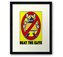 Beat the Elite Framed Print