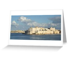 Fort St Angelo (sold) Greeting Card