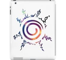Naruto Kyuubi Seal (Galaxy) #1 iPad Case/Skin