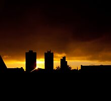 Southwark Sunset by EricHands