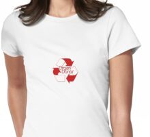Organ Donor Womens Fitted T-Shirt