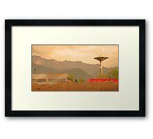 Paesaggio Industriale Framed Print