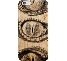Croc eyes iPhone Case/Skin