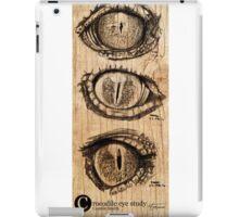 Croc eyes iPad Case/Skin