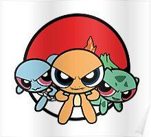 Powerpuff Pokemon Poster