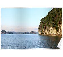 Islands Seascape III - Ha Long, Vietnam. Poster