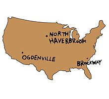 Ogdenville, North Haverbrook and Brockway by flashman