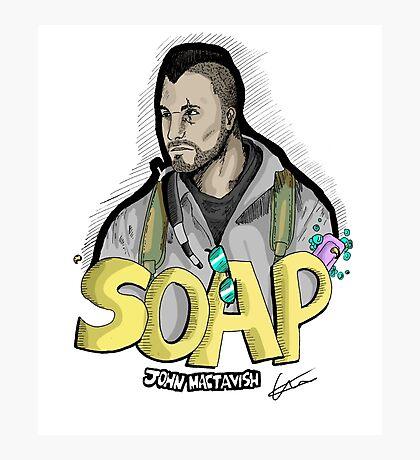 Soap MacTavish Photographic Print