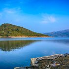 Salen Bay Loch Sunart by Chris Thaxter