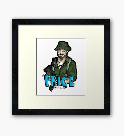 Captain Price Framed Print