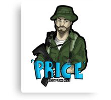 Captain Price Canvas Print