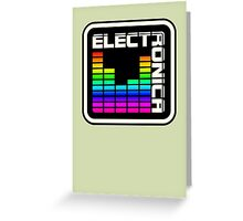 Electronica Colorful Meter Greeting Card
