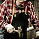 Mont De Lancey Blacksmithing 9 by Samantha Cole-Surjan