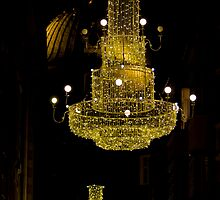 Floating Chandelier by Stefan Trenker