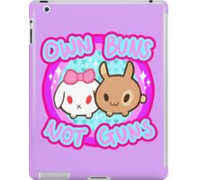 Own Buns Not Guns iPad Case/Skin