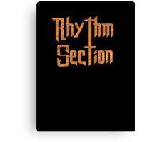 Rhythm Section Music  Canvas Print