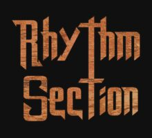 Rhythm Section Music  Kids Tee