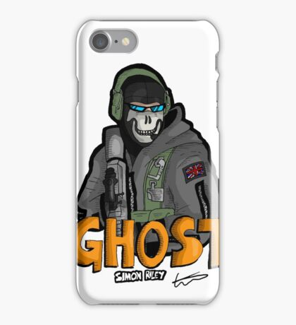 Ghost 'Simon Riley' iPhone Case/Skin