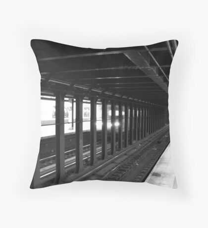 Waitin' on the A Train Throw Pillow