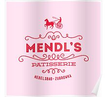 Mendl's Patisserie Poster