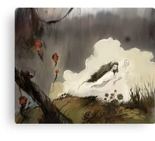 From the mist Canvas Print