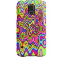 Psychedelic Glowing Colors Pattern Samsung Galaxy Case/Skin