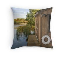 Boathouse Throw Pillow