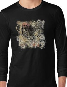 Bloody Cool Goat - Modern Grunge and Wicked Design Long Sleeve T-Shirt