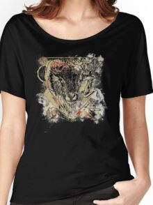 Bloody Cool Goat - Modern Grunge and Wicked Design Women's Relaxed Fit T-Shirt