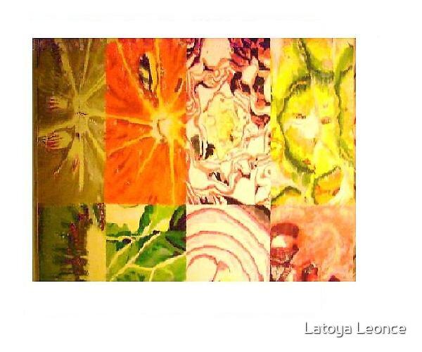 internal beauty of fruits by Latoya Leonce