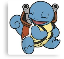 Squirtle's evolution Canvas Print