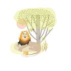 LION AND BIRD by Jane Newland