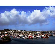 Newlyn Harbour - Cornwall UK Photographic Print