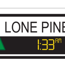 Lone Pine Mall Sticker