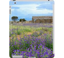 Outback wildflowers iPad Case/Skin