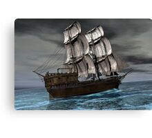 Heading Out To Sea Canvas Print