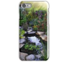 My Garden in Spring iPhone Case/Skin
