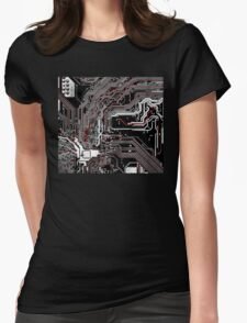 Metro - Project Chipset Womens Fitted T-Shirt