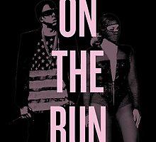J + B On The Run (BEY Pink) by hurhurh