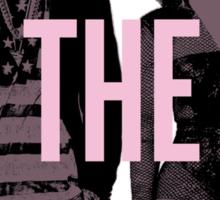 J + B On The Run (BEY Pink) Sticker
