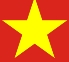 Vietnamese Flag, Flag of Vietnam, VIETNAM Sticker