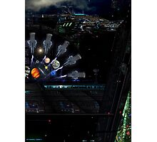 [Supremacy Transport Corporation Building] by conor graham ETHEREAL c2007. Photographic Print
