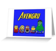 THE AVENGRU Greeting Card