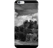 Spirit's Stonehenge Monochrome Poster iPhone Case/Skin