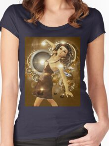 Dance of love Women's Fitted Scoop T-Shirt
