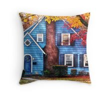 Little dream house  Throw Pillow
