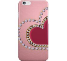 Heart of pearls iPhone Case/Skin