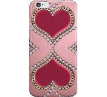 Heart of pearls 2 iPhone Case/Skin