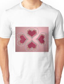 Heart of pearls 2 Unisex T-Shirt